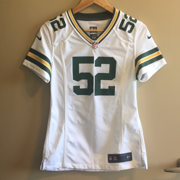 new style 05e15 a65b7 Clay Matthews NFL Packers White Jersey